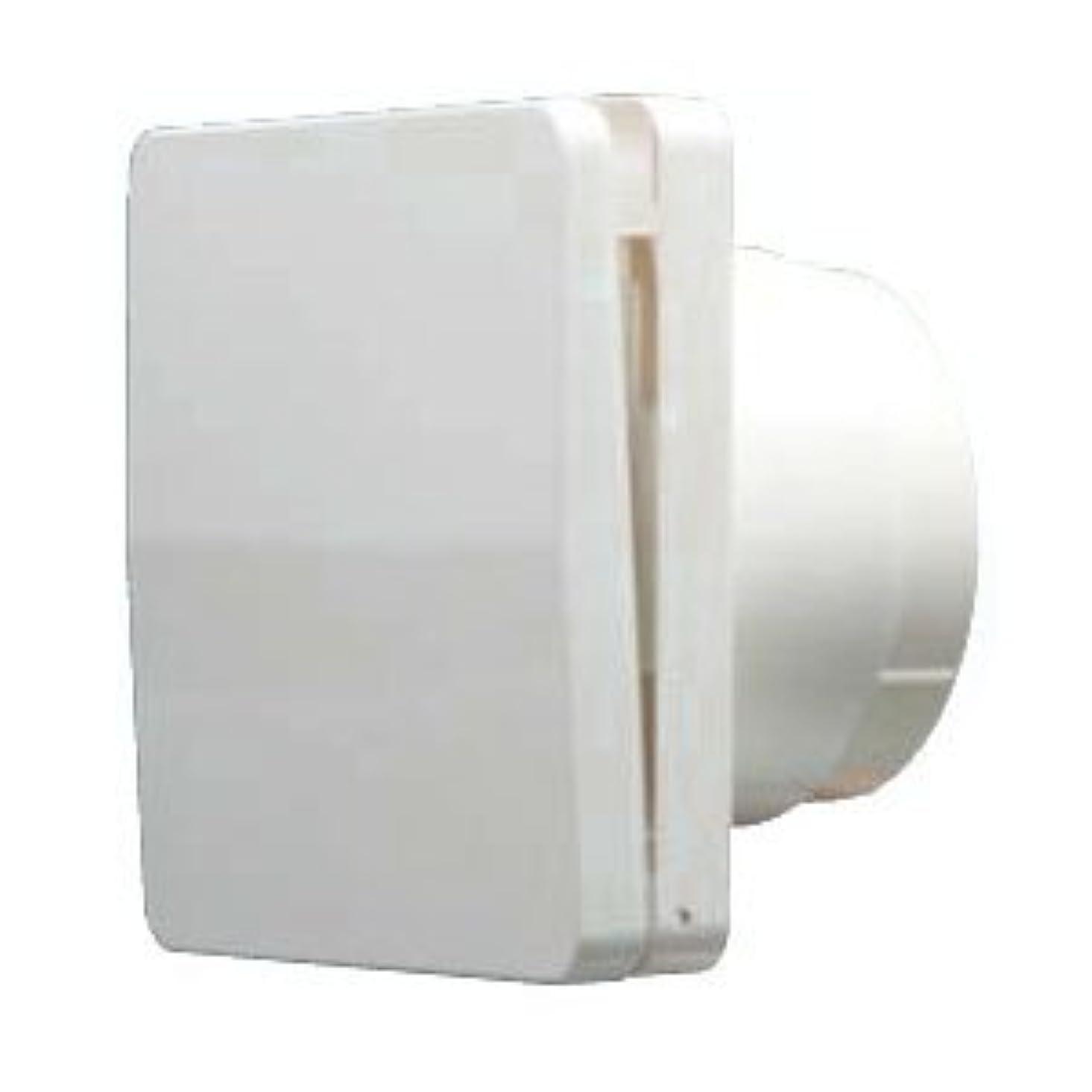ドアめったに哀フクビ化学 自然給気口 断熱シャッタータイプ ホワイト 1箱6個価格 FASKPHW