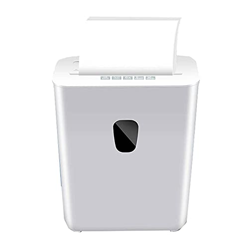 Destructora trituradora de papel, minicorte, 16L de gran capacidad, nivel de confidencialidad P4, velocidad de trituración de papel de 2 m / min, adecuada para triturar tarjetas de crédito, grapas