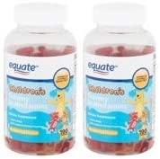 Children s Gummy Multivitamins 190ct by Equate Compare to L il Critters Gummy Vites Pack of product image