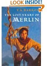T.A. Barron Merlin series 4 books: The Mirror of Merlin, The Wings of Merlin, The Seven Songs of Merlin, The Lost Years of...