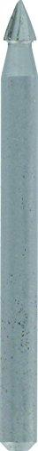 Dremel 9911 Wolfram Karbid Fräser mit Eispitze - Zubehör für Multifunktionswerkzeug mit 1 Fräser 3,2mm zum Formen, Glätten und zur Materialabnahme von Stahl, Kunststoff, Holz u.v.m.