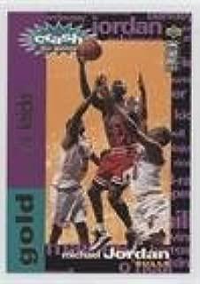 Michael Jordan (Basketball Card) 1995-96 Upper Deck Collector's Choice - Crash the Game Redemption Scoring - Gold #C1.1