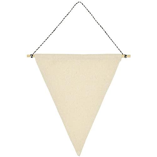 Broche de bandera de la pared del triángulo exhibición en blanco de la pared de la lona del esmalte Pin de la joyería de