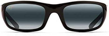 Maui Jim Stingray Polarized Grey/Mirror Wrap Men's Sunglasses
