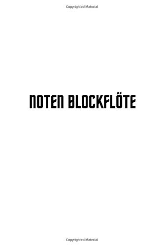 noten blockflöte