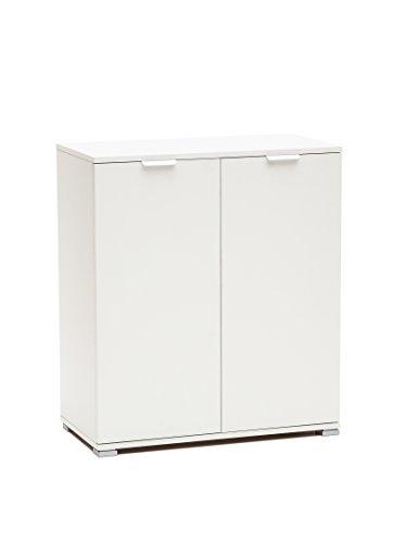 MeMi Me238BIA Armadietto, Legno, Bianco, 38x75x85 cm