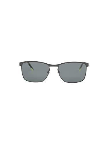 TOM TAILOR Herren Eyewear Wayfarer Sonnenbrille mit Metallgestell black frosted,OneSize