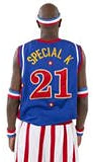 Harlem Globetrotters Special K Replica Jersey - Size: XL - Blue