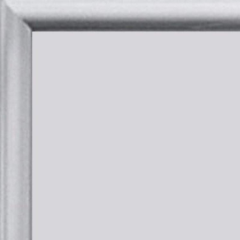 Homedecoration Cornice Kampen in tuttiuminio 92 x 28cm, Coloreee selezionato  Mettuttio con Vetro plastico Prossoettivo antiriflesso (1mm) Incluso.