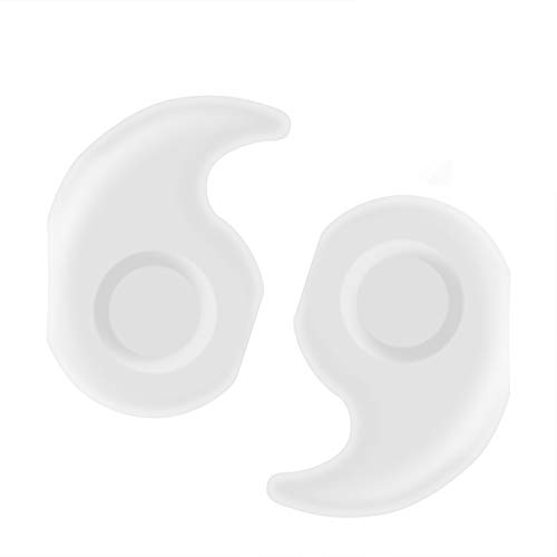 YR Anti Slip Eyeglasses Temple Tips Sleeve Retainer Stretchy Comfort Silicone Glasses Ear Grips Retainer for Eyewear Sunglass Reading Glasses 10 Pairs Clear