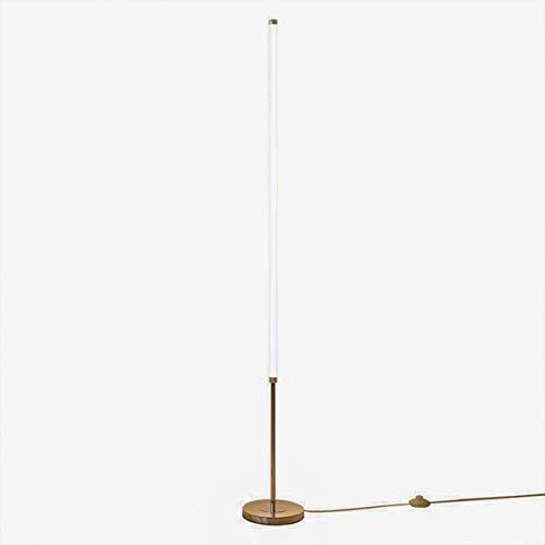 GAXQFEI Llevó Lámpara de Pie Regulable con Mando a Distancia 23W Metal Control Luz Del Piso de Diseño Minimalista Light Pole para Sala de Estar Dormitorio de la Luz Columna Brillo Infinitamente Regul
