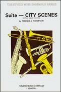 輸入楽譜/アンサンブル/四重奏・カルテット(Quartet)/トンプソン:組曲「都市の情景」