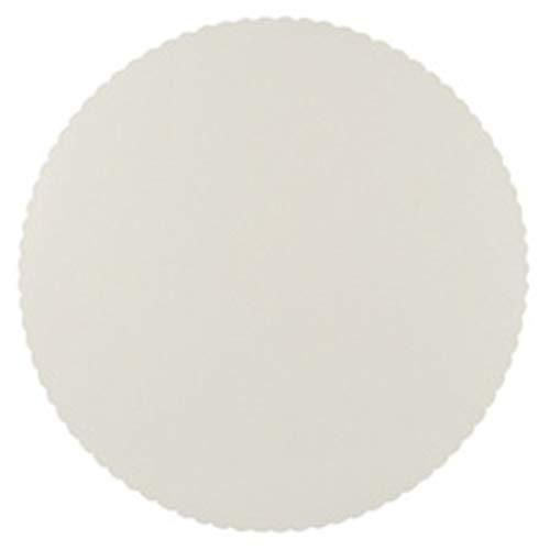 PAPSTAR 81723 Plateau à tarte rond, diamètre : 280 mm, blanc