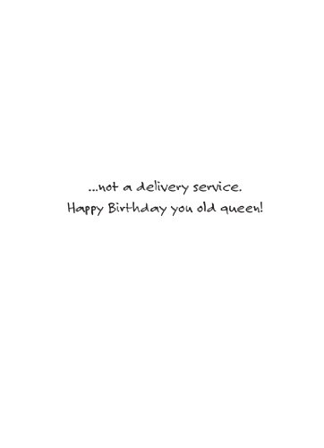 Boys 2 Men Delivery Birthday Card Photo #2