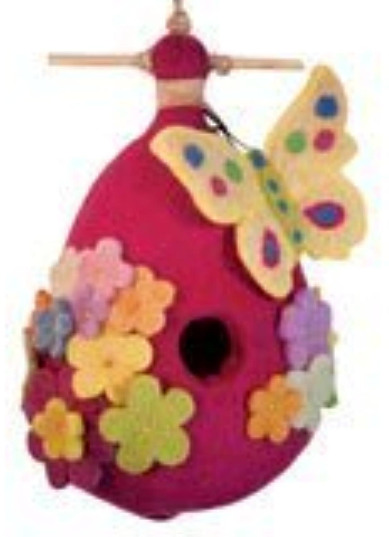 DZI Handmade Designs Butterfly Felt Birdhouse by DZI Handmade Designs