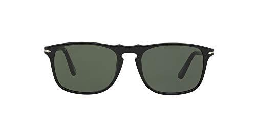 Persol Po3059s Occhiali da Sole, Nero (Black/Grey), 54 Uomo