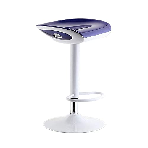 QLIGAH - Taburete de bar taburetes de bar y taburetes metálicos, taburetes de alto nivel, sin taburetes traseros, para peluquería de cocina