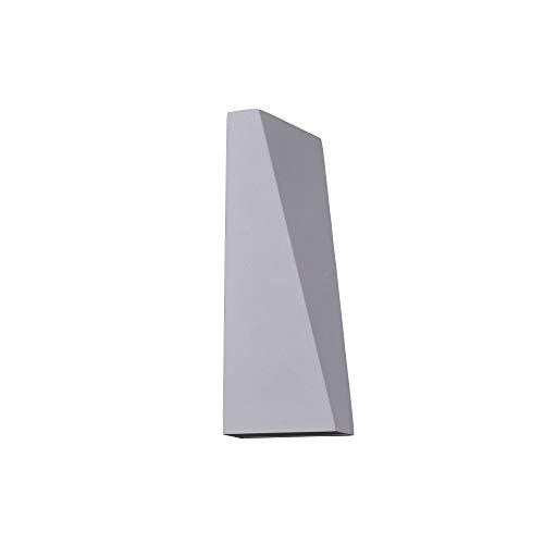 Applique murale exterieur LED, style moderne, armature couleur blanc, plafonnier en Metal couleur blanc, pour maison, escalier, terrasse 1 ampoule IP54 Lm: 100 K: 3200 230V LED COB EPISTAR