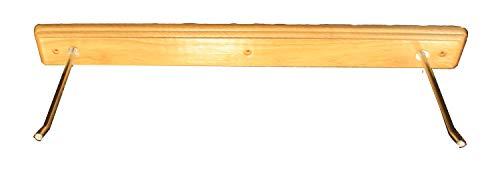 Tunturi 14Tusfu127 Gancho para Colgar Esterillas, Unisex Adulto, marrón, Talla Única