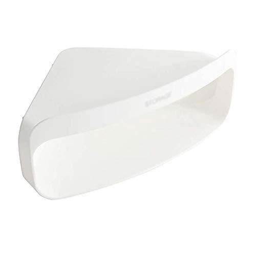 ZYING Carrito de la Ducha del baño Estante de la Esquina de almacenaje del Organizador del sostenedor del Estante for el hogar Baño Dormitorio (Color : White)