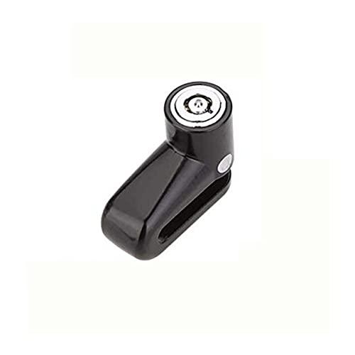 LJQYR Partes de la Bicicleta Mini Seguridad Proteger Disco Freno antirrobo Disco Disco de Freno Cerradura de Rotor para Bicicleta Scooter Motocicleta Alarma de Bloqueo Fuerte y Resistente al Desgaste