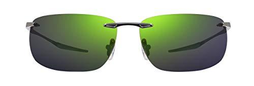 Gafas de Sol Revo DESCEND Z RE 1170 Shiny Gunmetal/Evergreen 64/13/140 unisex