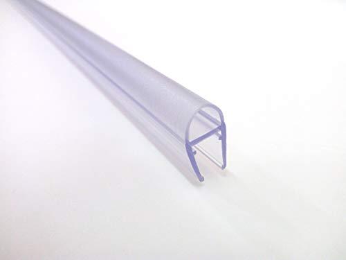 RPB Docce - Profilo P6 a Palloncino vetro 6/8 mm MADE IN ITALY per box doccia in Vetro