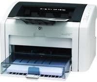 HP LaserJet 1022 - Printer - B/W - laser - Legal, A4 - 1200 dpi x 1200 dpi - up to 18 ppm - capacity: 260 sheets - USB