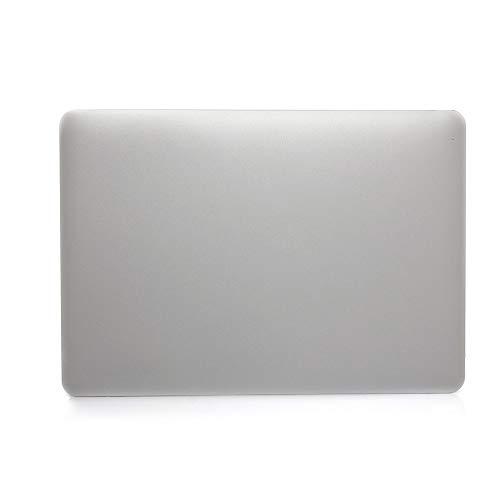 GHC Pad Fundas & Covers para MacBook Air Pro Retina 11 12 13 15, Bolsas portátiles Funda de Teclado de Barras Táctil para MacBook Pro 13.3 15.4 Pulgadas (Color : Silver, Talla : Air 11 A1370 A1465)