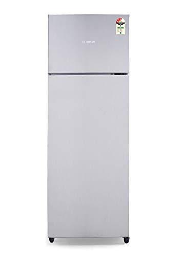 Bosch 327 L 3 Star Inverter Frost-Free Double Door Refrigerator (KDN42UL30I, Mettalic)