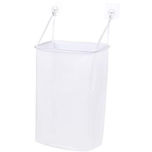 weichuang Cesta de almacenamiento azul para ropa sucia, para ropa sucia, cubo de juguetes, cubo de ropa sucia, cesta de almacenamiento de ropa sucia, color azul (color: blanco)