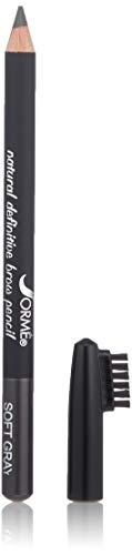 Sorme' Treatement Cosmetics Waterproof Eyebrow Pencil, Soft Gray