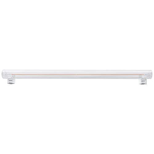 LED Filament Linienlampe 2 Sockel 5W=60W S14s KLAR 50cm Ra>90 extra warmweiß 2200K
