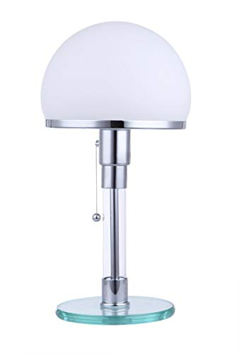 KIODS Nachttischlampe Designer Led Table LighKristallglasTischlampeLed Augenschutz Desktop Dekorative Lampe Nachttischlampe