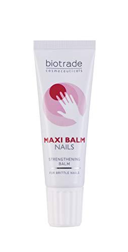 Maxi Balm verbessert den Halt des Nagellacks Nagelhärter Stärkt brüchige Nägel Schützt vor Verfärbungen Verstärkung und Pflege für Nägel und Nagelhaut 15ml Von Biotrade