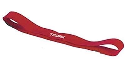 Toorx 2X Elastico ad Anello in Lattice Diametro 30cm Resistenza Strong Colore Rosso