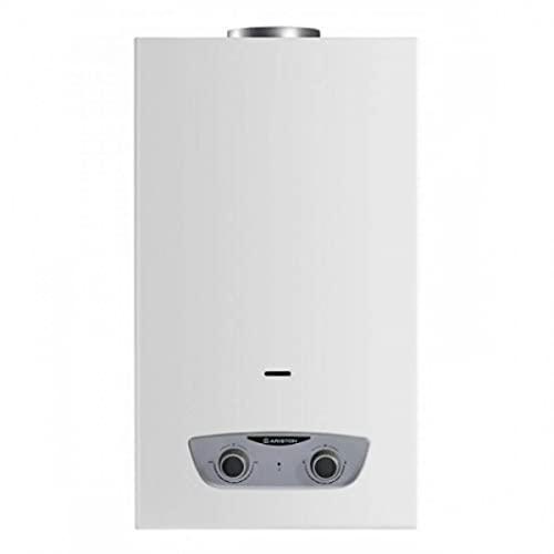 Ariston FAST R X ONM 11 LPG EU - Calentador a gas butano, fabricado para ser instalado en España, color gris