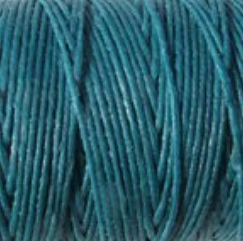 UnCommon Artistry Crawford Waxed Irish Linen- Sold per 10 Yards of 4-ply (Teal)
