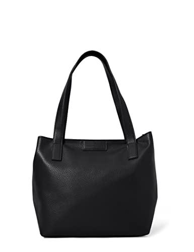 TOM TAILOR bags MIRI ZIP Damen Shopper L, black, 43/36x17,5x28