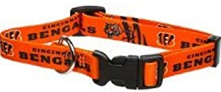 Cincinnati Bengals Large Adjustable Dog/Cat Collar (Large)