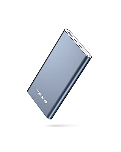 Power Bank USB C 12000mah, PD 20W QC 3.0 Externer Akku mit Iightning Typ C Anschlus Power Delivery Quick Charge 3.0 schnelle Aufladung Ladegerät für iPhone, Sumsung Galaxy, Huawei