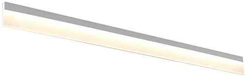 Moderne spiegellampen voor de badkamer met spiegel en LED-lampen voor de noordelijke badkamer, waterbestendig, rollsnownow (kleur: warmwit, maat: 80 cm)