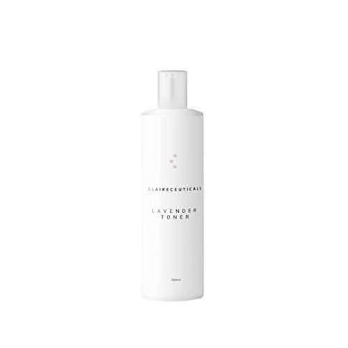 Tonico viso naturale alla lavanda CLAIRECEUTICALS I 250ml I Con proteine del grano e provitamina B5 I Idratante, purificante e anti età I Cosmesi skin