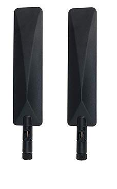 HzLabs: 3G/4G/LTE/Cat 1M Multiband Omni-Directional Antenna Compatible with Cradlepoint, Digi, Sierra Wireless, Ublox and Others (2 Pack)