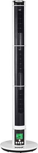 MaxxHome FT-T03DX - Ventilador de columna, eléctrico, ventilador de torre silencioso, mando a distancia, 270 ° y temporizador (9 velocidades)