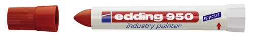 edding 4-950002 Spezialmarker 950 industry painter, 10 mm, rot