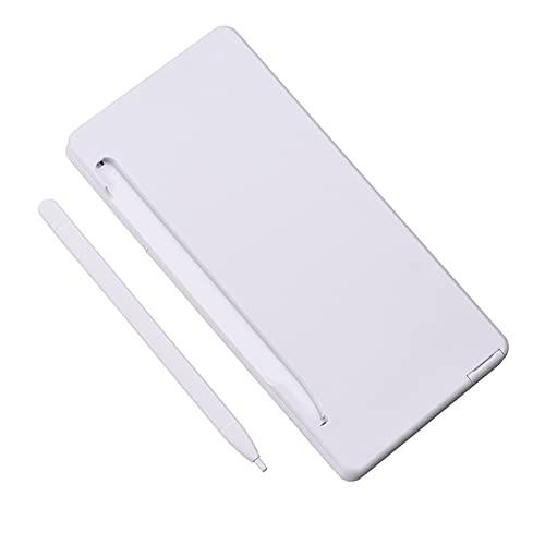 WBHUBIN Calcolatrice Calcolatrice Pieghevole e 6 Pollici LCD. Scrittura Tablet Digital Drawing Pad 12 cifre Display Sketchpad Calculator Semplice e Piccolo (Color : White)