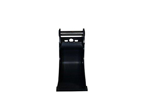 Terrablade ST- Kabellöffel 250mm breit bis 2.2t mit Schnellwechselaufnahme MS01, Schneidleiste aus Hardox/Baggerschaufel, Baggerlöffel