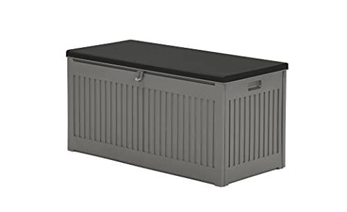 Garden Impressions Voll Kunststoff Aufbewahrungsbox Jersey 270 Liter mit Hubautomatik