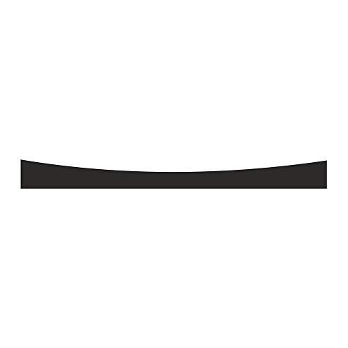 4R Quattroerre.it 2270 - Parasol adhesivo para coche, color negro